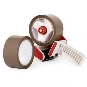 Brown Packing Tape with Dispenser