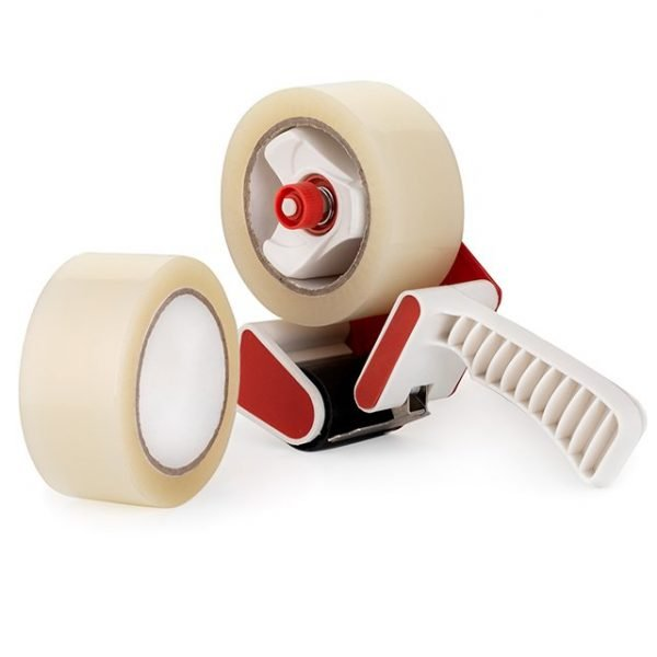 Clear Packing Tape with Dispenser