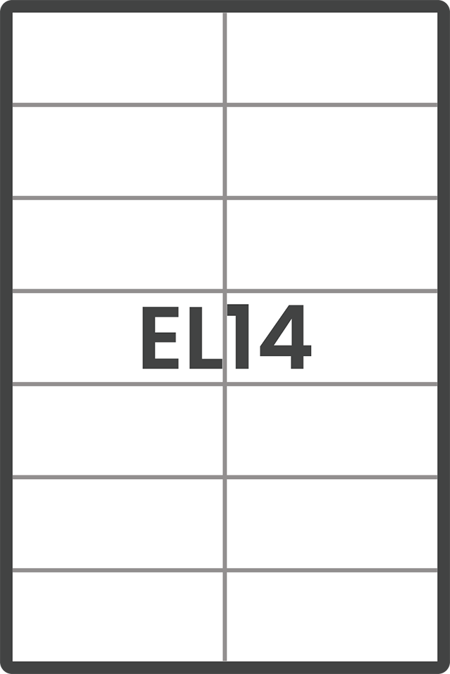 EL14 Labels