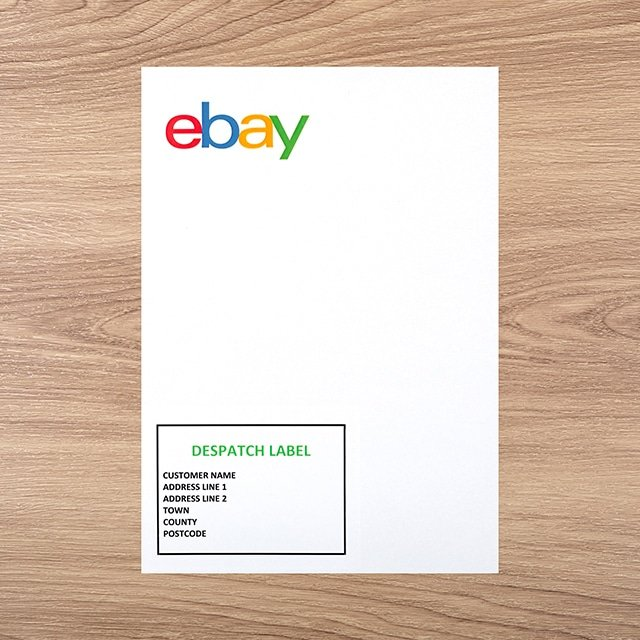 Ebay Postage Labels