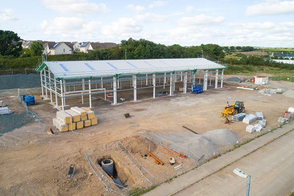Forms Plus Warehouse under construction