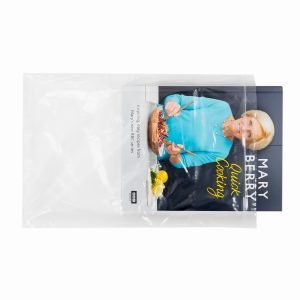 Clear Sealable Bags for Mailing Books and Catalogues