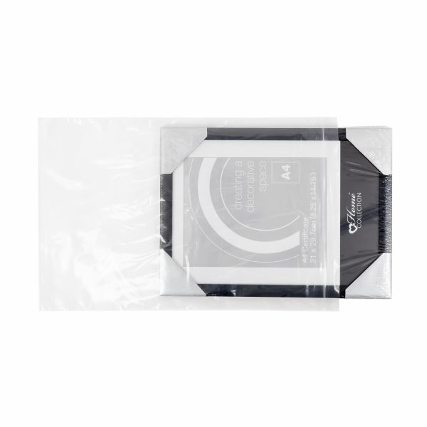 Large Clear Grip Seal Mailing Bags for E Commerce