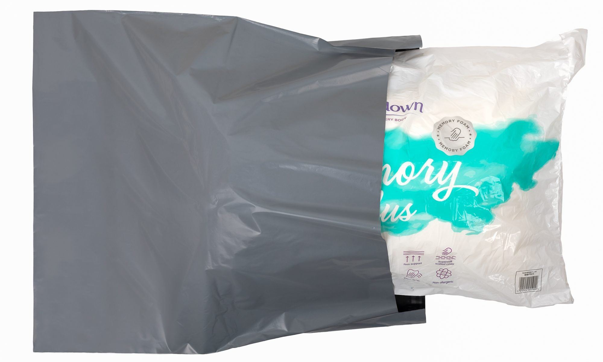 Large Eco Friendly Mailing Bag from Recycled Polythene
