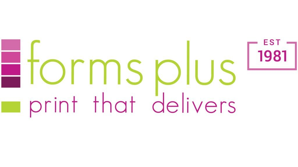 Forms Plus Founded 1981 Logo