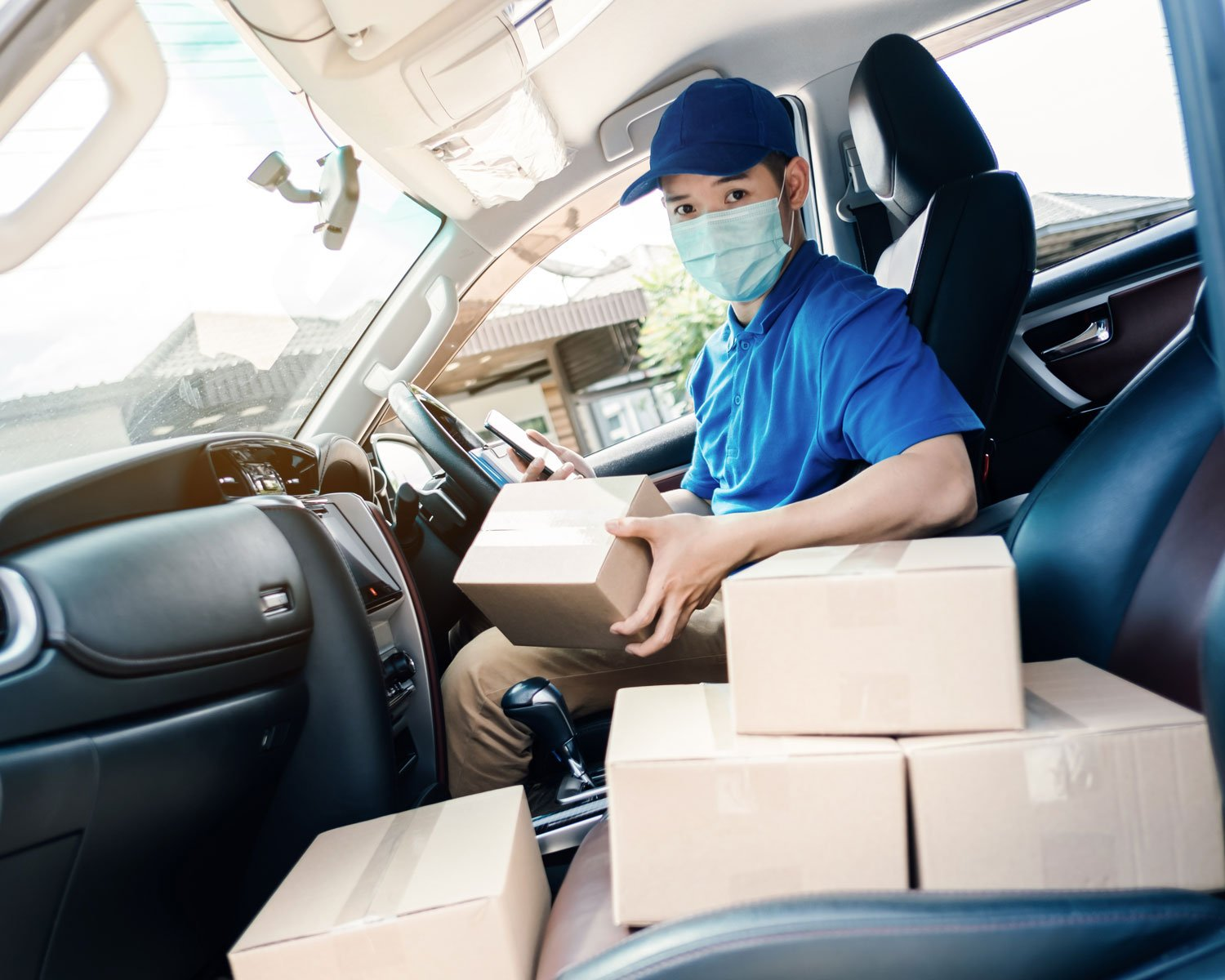 E Commerce Delivery During COVID