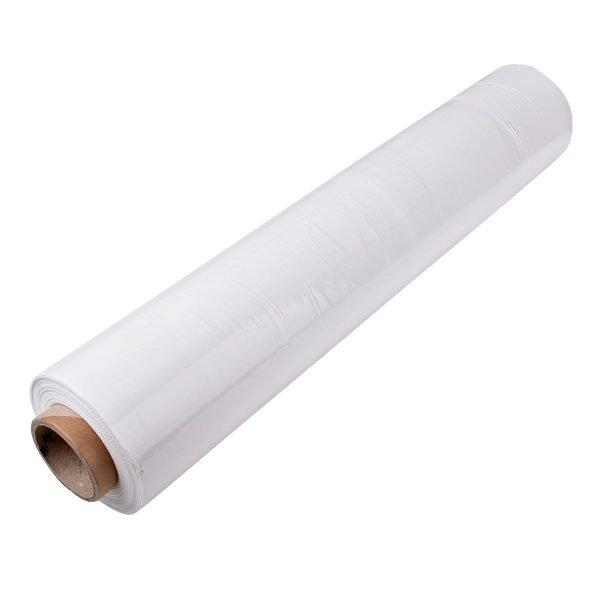 White pallet wrap